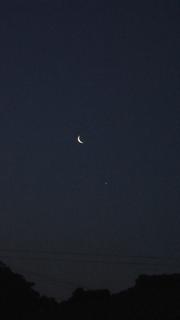 月と金星の接近(標準)