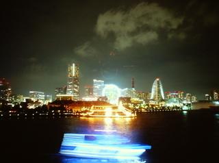 横浜港の夜景