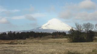 御殿場線からの富士