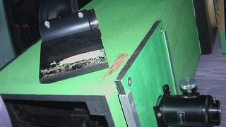 望遠鏡破損
